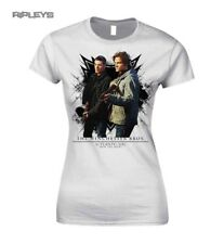 Official Skinny White T Shirt Supernatural  WINCHESTER Bros All Sizes