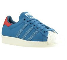 NEU adidas Originals Superstar 80s Animal Oddit Schuhe Sneaker Turnschuhe Blau