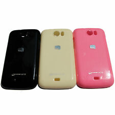 High Quality Platina Jelly TPU Back Case Cover for Micromax A110 Canvas 2