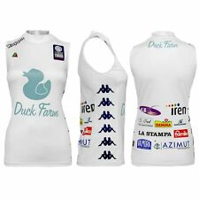 2709 KAPPA MAGLIA DONNA LADY PALLAVOLO CHIERI VOLLEY 12 SHIRT JERSEY VOLLEYBALL