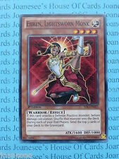 Ehren, Lightsworn Monk SDLI-EN011 Common Yu-Gi-Oh Card Mint 1st Edition New