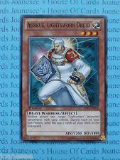 Aurkus, Lightsworn Druid SDLI-EN013 Common Yu-Gi-Oh Card Mint 1st Edition New