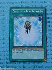 Charge of the Light Brigade SDLI-EN027 Common Yu-Gi-Oh Card Mint 1st Edition New