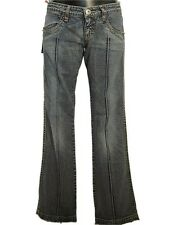 Jeans donna LATINO' Tg. W 26 28 IT 40 42 Bootcut Denim Stonewash Vita Bassa
