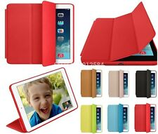 PU Leather Ultra Thin Stand Flip Cover Slim Smart Case for Apple Ipad Air 2