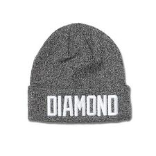 DIAMOND SUPPLY CO. Reggie Calotte Pompon Chapeau Streetwear NOIR / BLEU / ROUGE