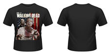 The Walking Dead T-Shirt: American Flag Zombie (schwarz)