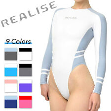 New Realise N-015 long-sleeved high-cut Swimsuit Swimwear Normal Choose color