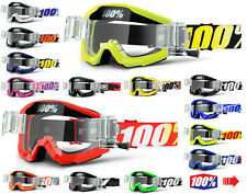 2019 100% Percent Strata Motocross Brille mit Gso Rolle aus Kanister Mx MTB