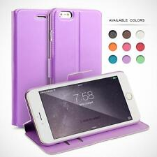 SYNTHETIC PU LEATHER FLIP CASE COVER FOR IPHONE PHONE MODELS