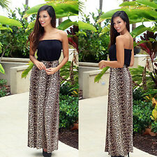New Sexy Women Summer Beach Off-shoulder Maxi Long Dress Evening Party Sundress
