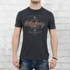 Billabong T-Shirt Herren Choppers dunkelgrau melange Männer Shirt Mens Tee black