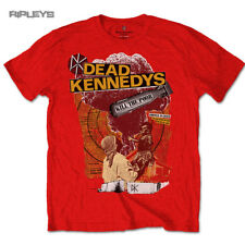 Official T Shirt DEAD KENNEDYS Punk Vintage Red  Kill The Poor All Sizes
