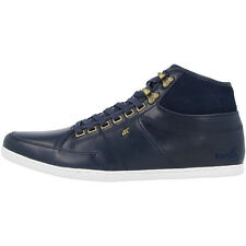 BOXFRESH SWAPP 3 PREMIUM NCW LEATHER SUEDE SNEAKER HIGH TOP SCHUHE NAVY E13328