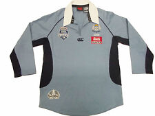 Canterbury CCC Rugby Shirt New South Wales State Of Origin Blues Womens Sky Blue