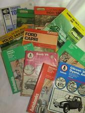 VINTAGE CLASSIC CAR WORKSHOP MANUAL 1960s/70s SELECTION Autodata Intereurope etc