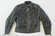 Harley Davidson Men's Vintage ORIGINAL 90's V-TWIN Leather Jacket Patches L RARE