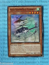 Mecha Phantom Beast Tetherwolf WGRT-EN060 Common Yu-gi-oh Card Mint Limited New