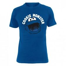 Sesame Street T-Shirt Men - COOKIE MONSTER - Royal