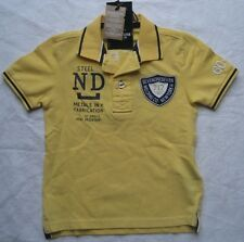 SEVEN ONE SEVEN Kinder Polo-Shirt LUKA / Gelb / NEU