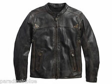 Harley Davidson Men's Willie G Limited Brown Leather Jacket 97097-16VM L XL 2XL