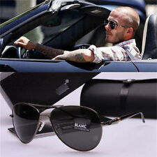 New Mens Aviator Sunglasses Polarized Outdoor Driving Mirror Glasses Eyewear