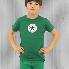 Converse Kinder T-Shirt CT Patch T Boys celtic green Kids Tee All Star Shirt
