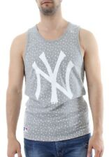 New Era MLB AOP Palm Tank Men NY YANKEES Hellgrau