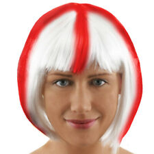 ST GEORGE BOB WIG ENGLAND EURO CUP FOOTBALL SUPPORTER FANCY DRESS ACCESSORY