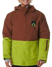 Gorgeous Boy's Billabong Bison Snow Jacket - Size 8-14. NWT, RRP $139.99.