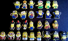 Despicable Me Minions Croc Shoe Charms Crocs Jibbitz Star Wars Avengers lot