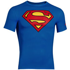 UNDER ARMOUR ALTER EGO COMPRESSION SHORT SLEEVE SHIRT SUPERMAN ROYAL 1244399-401