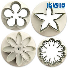 Icing Flower Cutter for Cake by PME – Daisy Petal Carnation Calyx for Sugarpaste