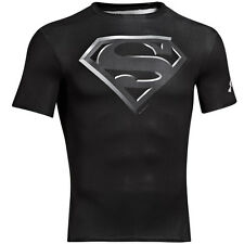 Under Armour Alter Ego Compression Short Sleeve Shirt Superman Black 1244399-005