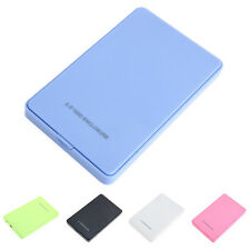 "USB2.0 2.5"" External Hard Drive Mobile Disk IDE HDD Enclosure Case Box 5 Colors"