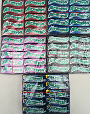 30 PACKS - Wrigleys ONDAS DE RADIO SUGARFREE Chicle EXTREMAS NEGRO MENTA CEREZA