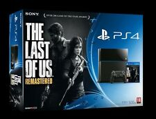 NEW & SEALED Playstation 4 Console 500gb + THE LAST OF US Remastered PS4 BUNDLE