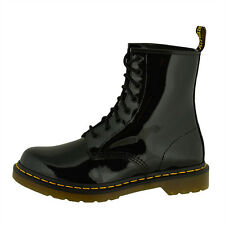 Dr Doc Martens 1460 W Boots 8-Loch Stiefel black patent lamper 11821011