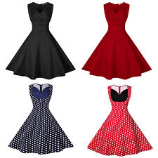 Women Hepburn 50s Rockabilly Swing Party Evening Party Business Cocktail Dress
