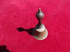 ANTIQUE BRASS BELL/RINGING BELL/OLD BRASS/CHURCH BELL/DINNER BELL/SERVANTS BELL