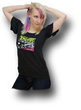 EMILY THE STRANGE Retro Night Of Rock - Emo T-Shirt Rockabilly