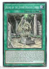 Ruins of the Divine Dragon Lords SR02-EN024 Super Rare Yu-Gi-Oh Card 1st Eng New