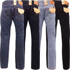Levi s 501 Straight Fit Jeans - 28 30 31 32 33 34 36 38 40 42 44