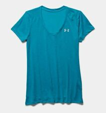 Under Armour Damen Shirt UA Tech™ Slub mit V-Ausschnitt