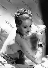 Bette Davis Classic Vintage Hollywood Movie Star Photograph Photo re-print