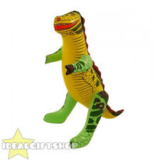 INFLATABLE 43CM DINOSAUR FANCY DRESS PARTY ACCESSORY JURASSIC T-REX DECORATION