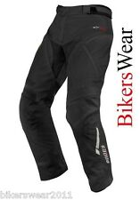Alpinestars Andes Drystar Black Waterproof Textile Motorcycle Trousers Short Leg