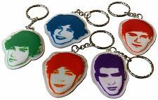 One Direction Fabric Keyring *HARRY* *NIALL* *LOUIS* *LIAM* *ZAYN* 1D NEW