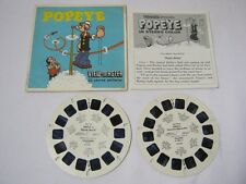 Popeye View Master Reel Packet  T*