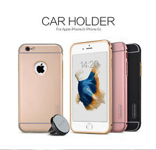 100%Original NILLKIN Car Holder & Hard Back Cover Case for Apple iPhone 6 / 6S